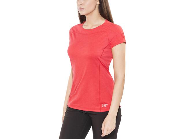 Arc'teryx Taema Crew T-shirt Dames, rad